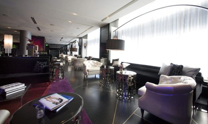 Target Commercial Interiors W Hotel Foshay Living Room