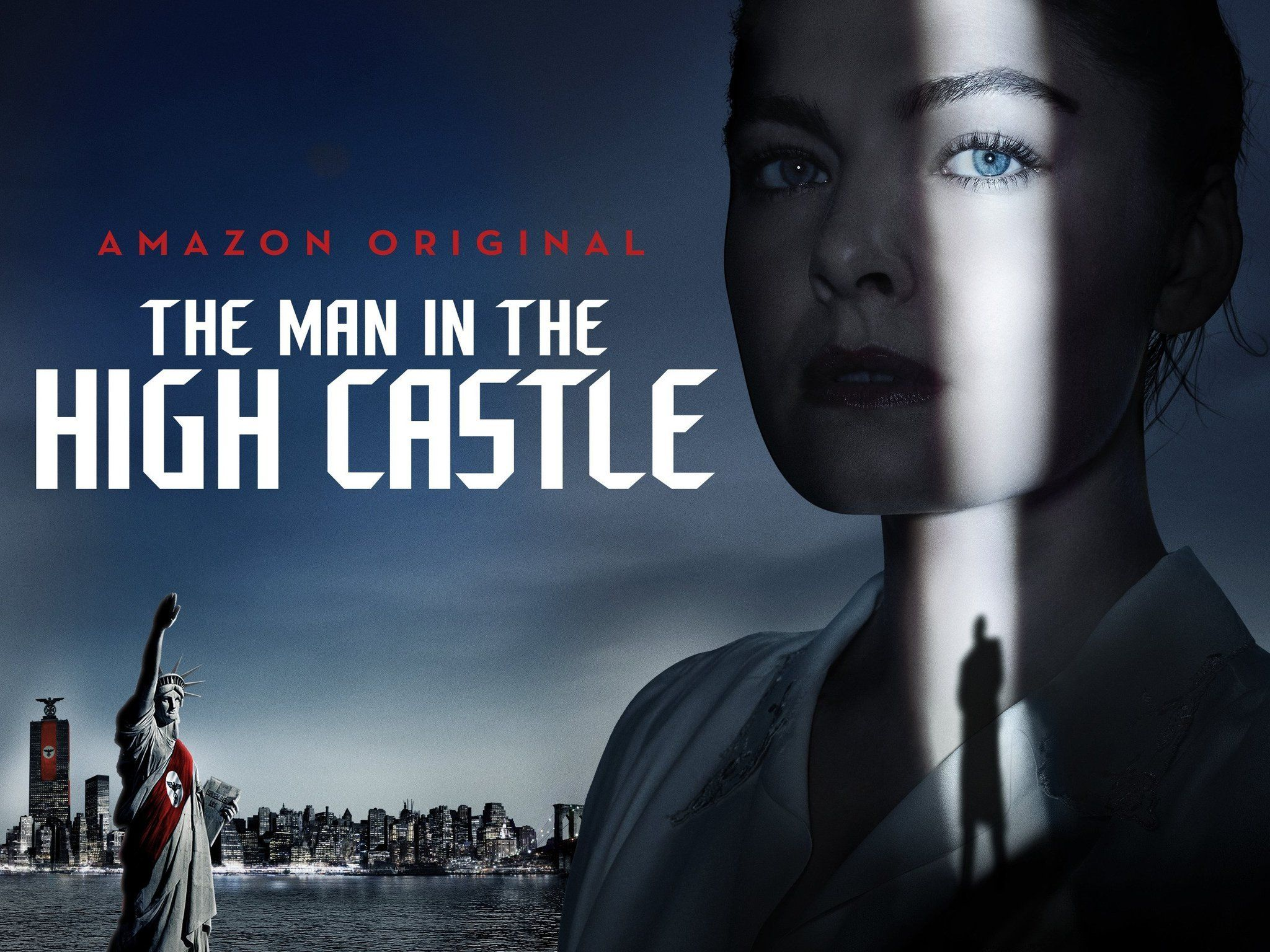 Gold Heart Necklace Man in the High Castle High castle