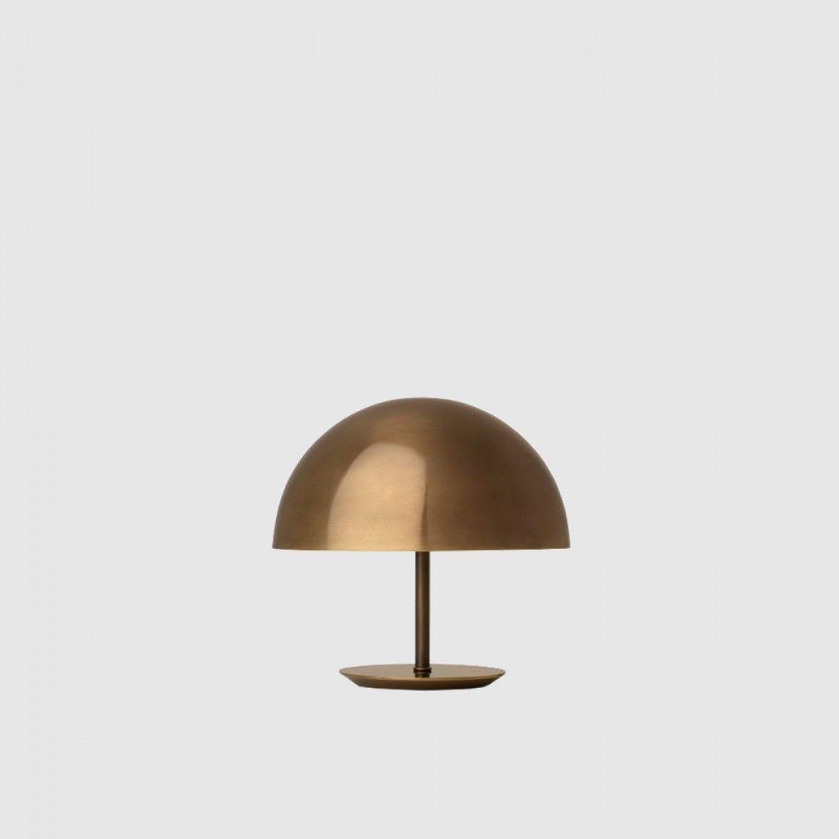 Dome table lamp small brass designer tom bracher for mater dome table lamp small brass designer tom bracher for mater aloadofball Choice Image