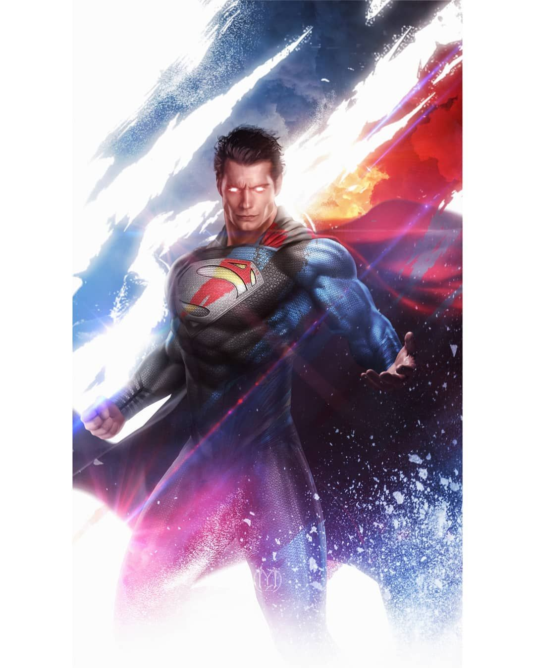 Yadvender Singh Rana On Instagram So This Morning We Saw A Short Clip From The Zack Snyder Justice League In Wh In 2020 Superman Art Man Of Steel Superman Wallpaper