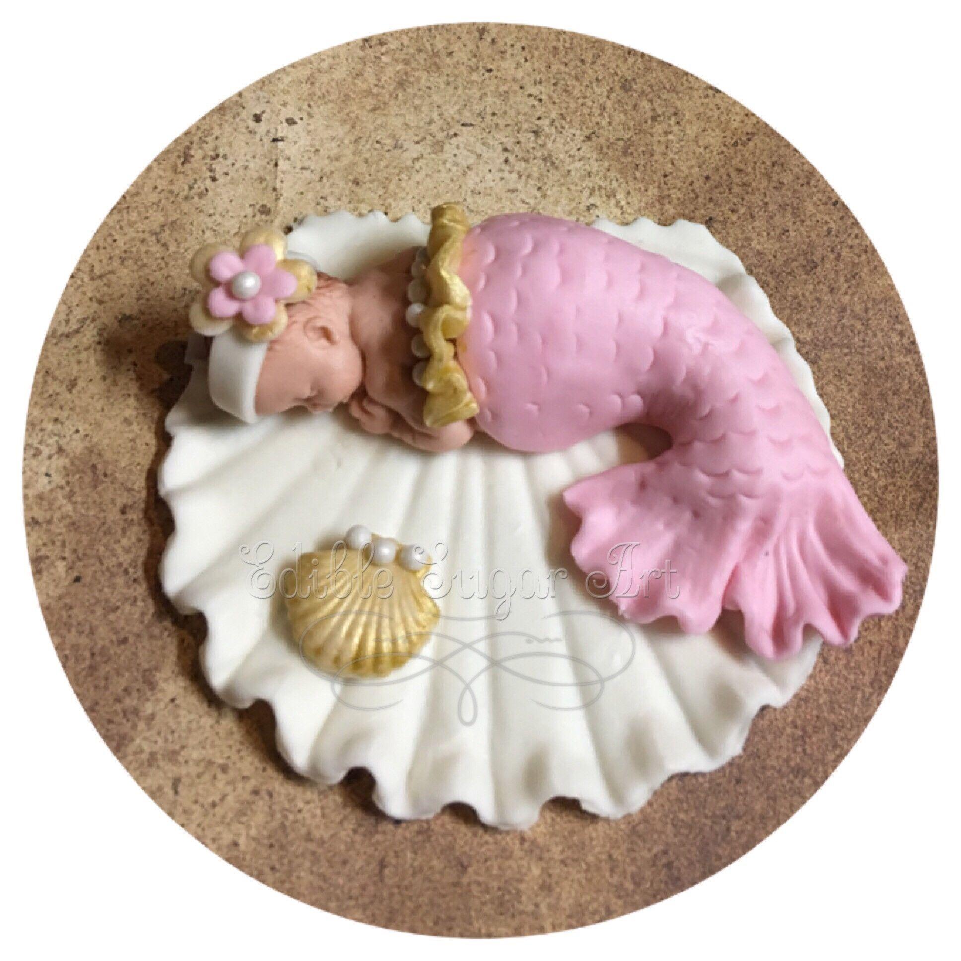 MERMAID BABY SHOWER Cake Topper Party Decorations Mermaid Nursery Mermaid baby…