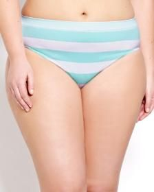a9ccd8cba161 Seamless Striped High Cut Panty - Déesse Collection | Intimates ...