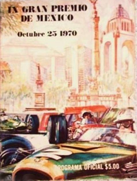 197GP -  IX Gran Premio de Mexico 1970