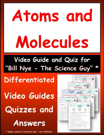 Bill Nye Atoms And Molecules Worksheet Answers - worksheet