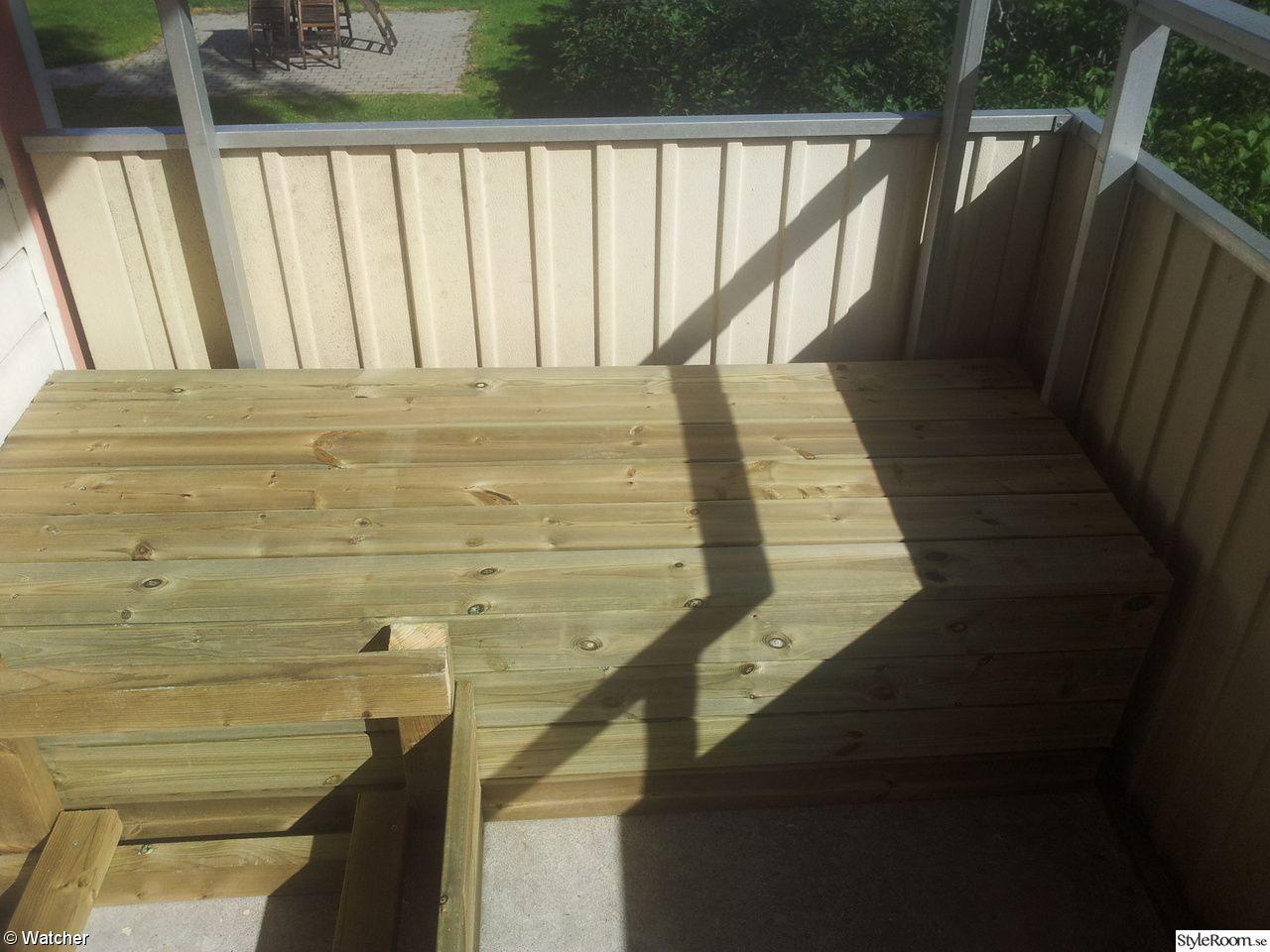 Inredning trall till balkong : Bygga soffa på balkong - Ett inredningsalbum på StyleRoom av ...