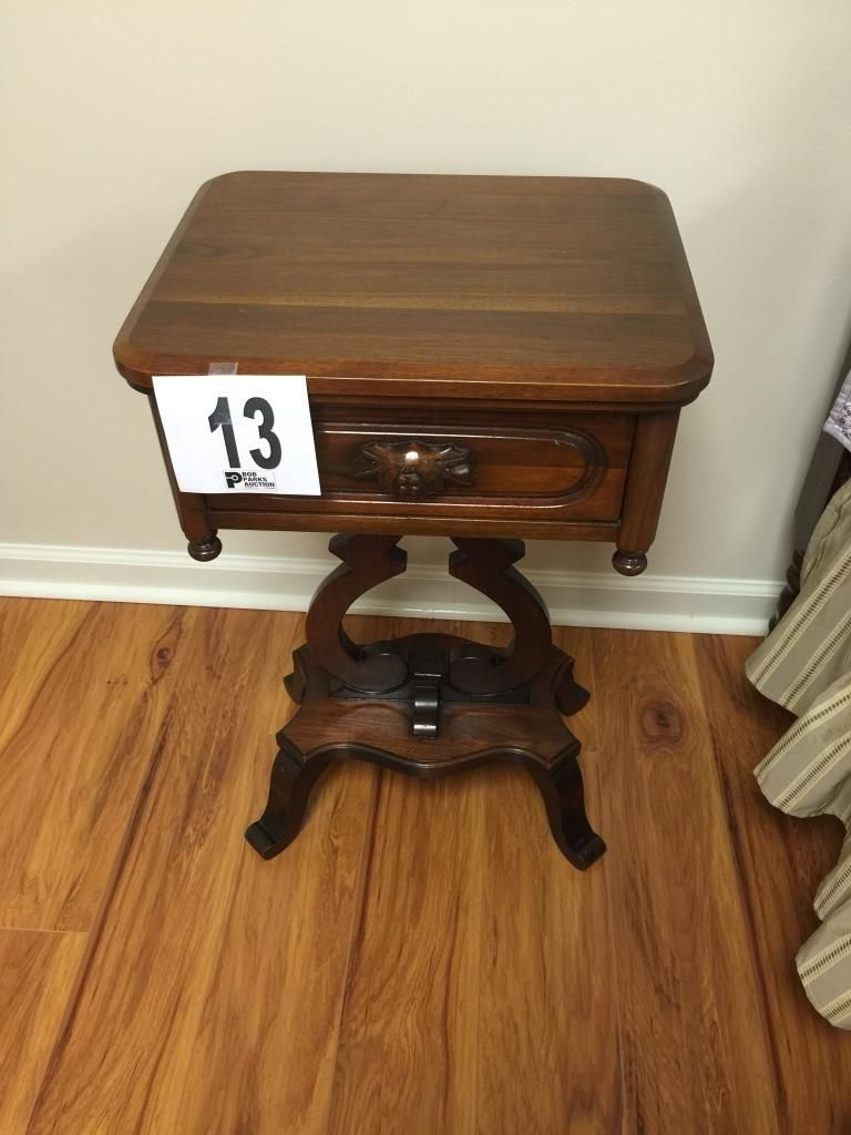 Lot Lillian Russell Bedroom Suite Furniture Walnut Also South