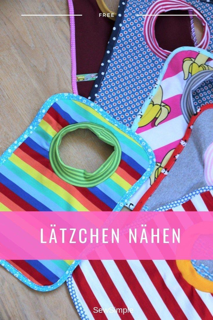 Photo of Lätzchen nähen | Anleitung mit kostenfreiem Schnittmuster