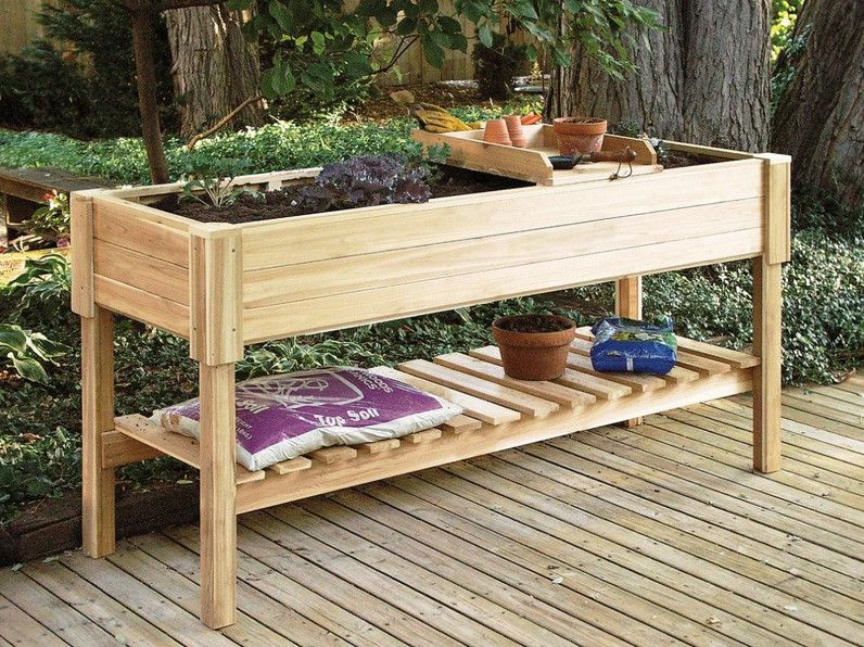 Elevated Garden Beds On Legs Raised Garden Planters Elevated