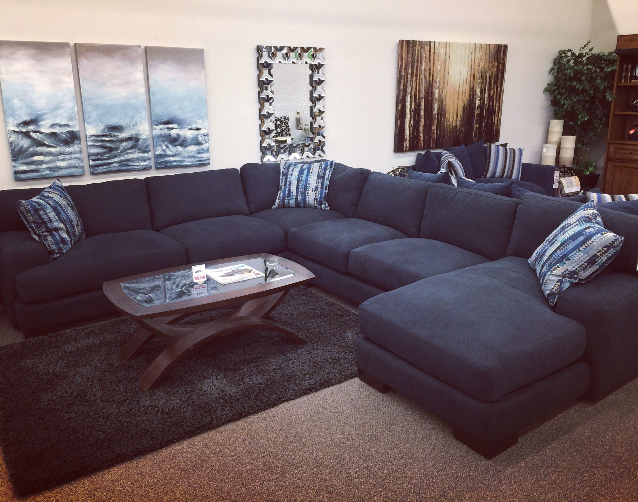 Sofaland Sectional Don T Drop Your Phone Or Keys In This Sectional You May Never
