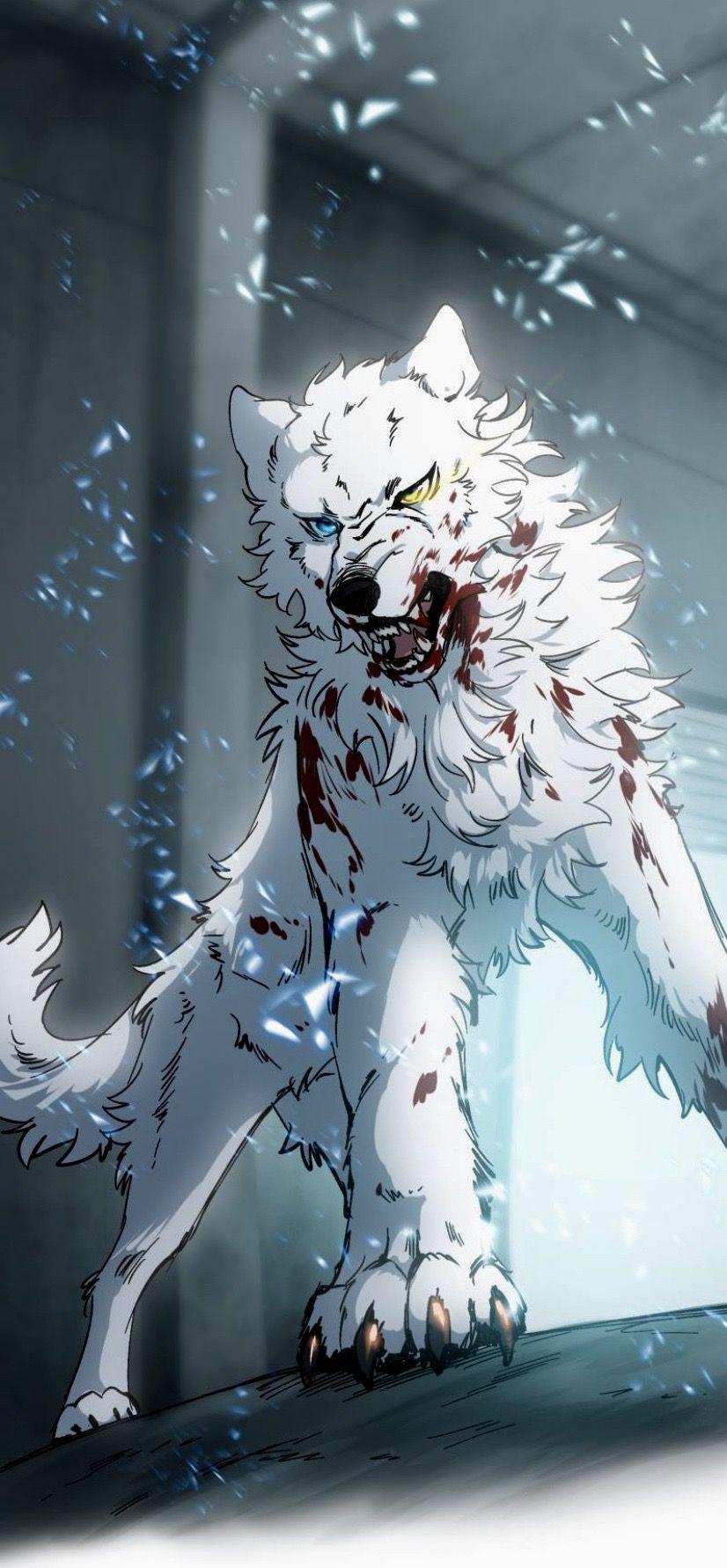 Lumine 4 in 2020 Anime art, Anime wolf, Anime