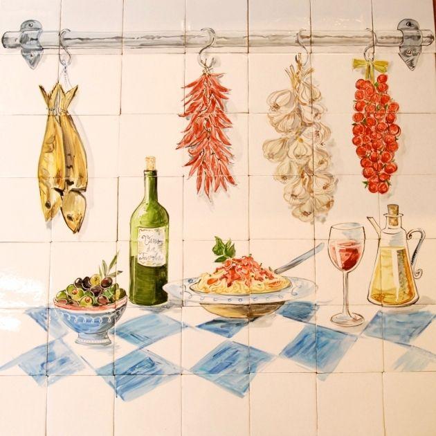 Tegeltableau Italiaanse Keuken Keuken Decoratie Ideeen Keuken Ontwerp