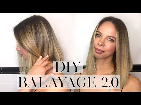 How to: EASIEST DIY Balayage - UPDATED (+ Getting Tease Out)