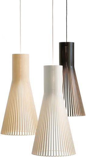 :: LIGHTING :: Secto Design, love the simple 4200 pendants #lighting