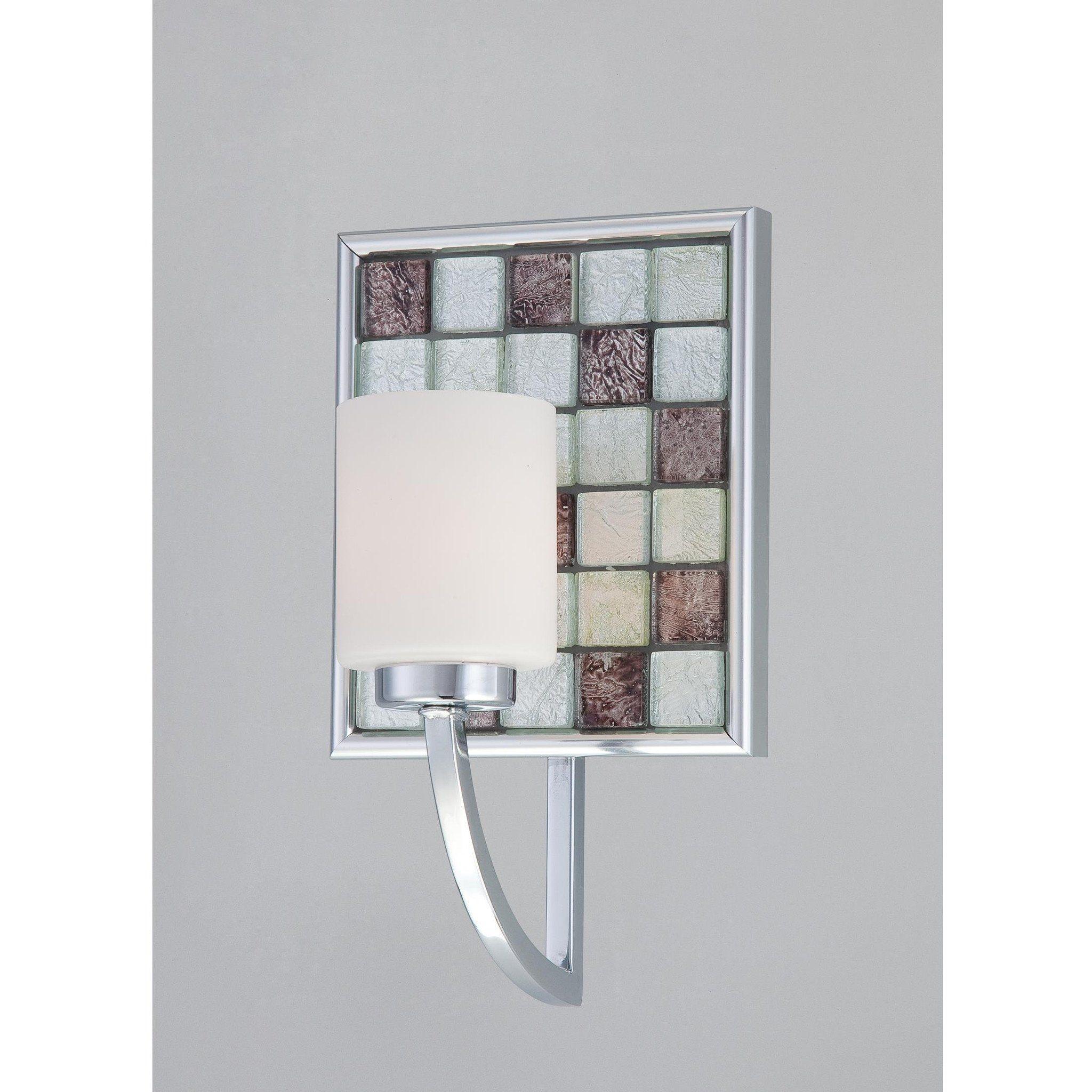 Quoizel lighting vtrtc vetreo retro collection one light wall