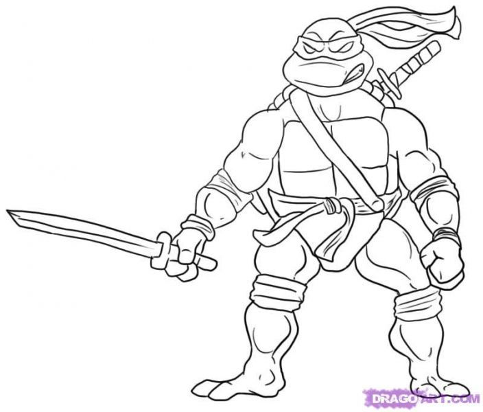 Ninja Turtle Coloring Pages Adult Japanese Culture For Kids