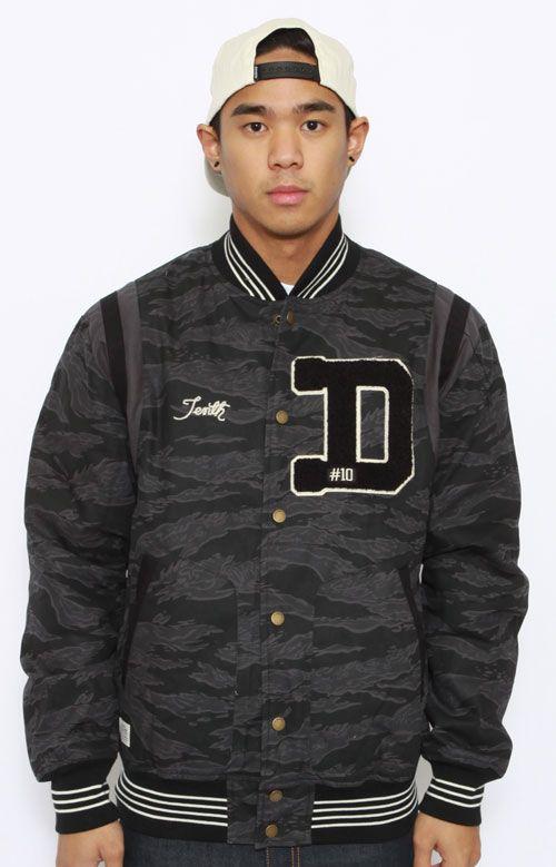 10 Deep, X Clan Varsity Jacket Black in 2020 Jackets