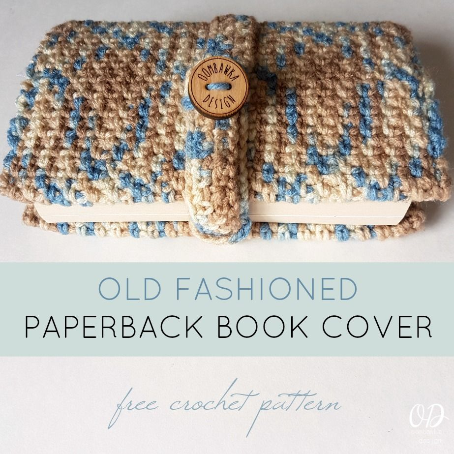 Book Cover Crochet Hook ~ Old fashioned paperback book cover crochet pattern crochet