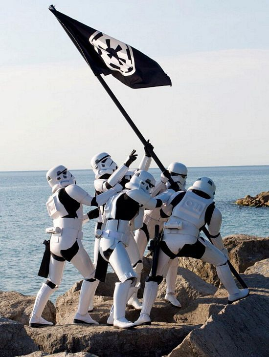 another victory for the empire.