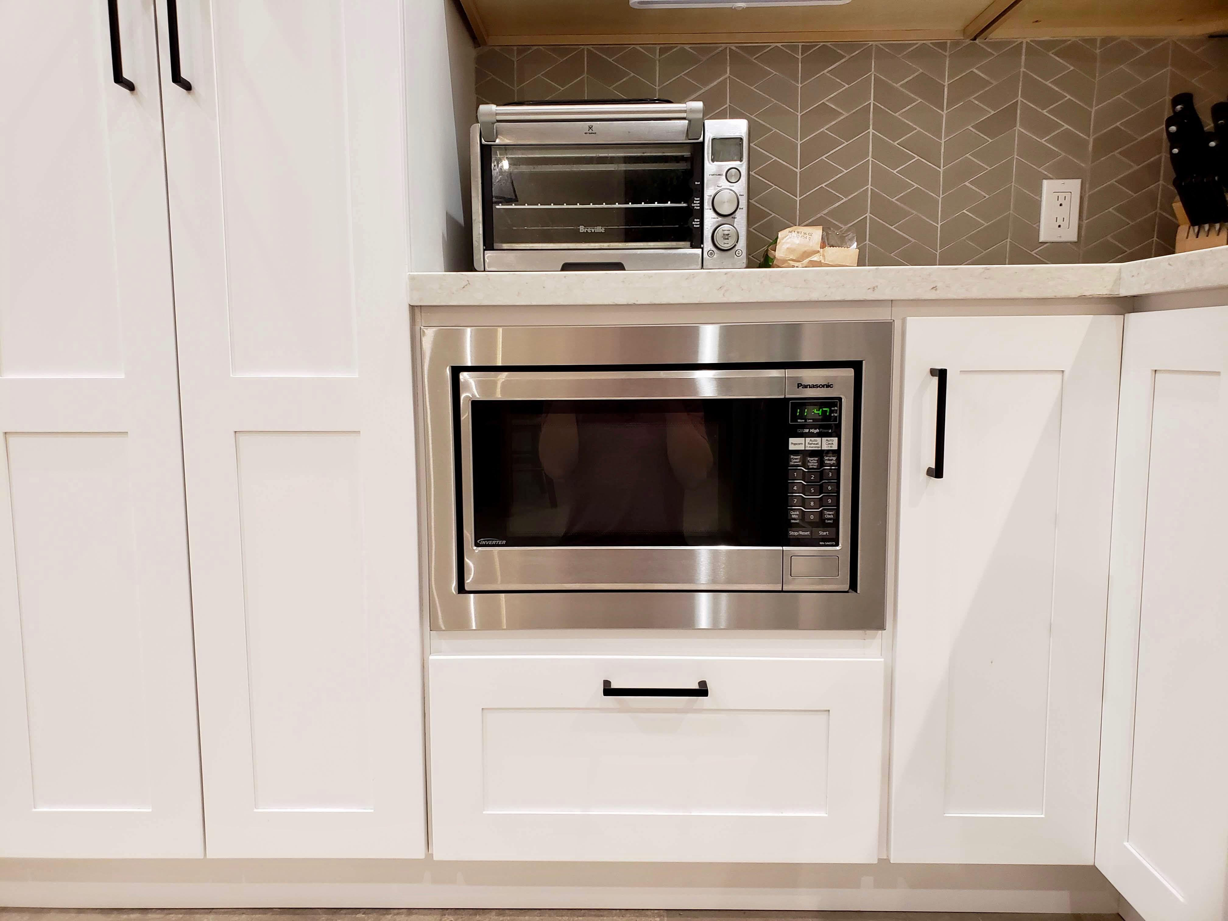 24 Standard Trim Kit For A Kitchenaid Microwave Model