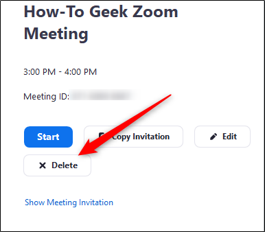 How To Cancel A Zoom Meeting Cancelled Losing Faith Told You So