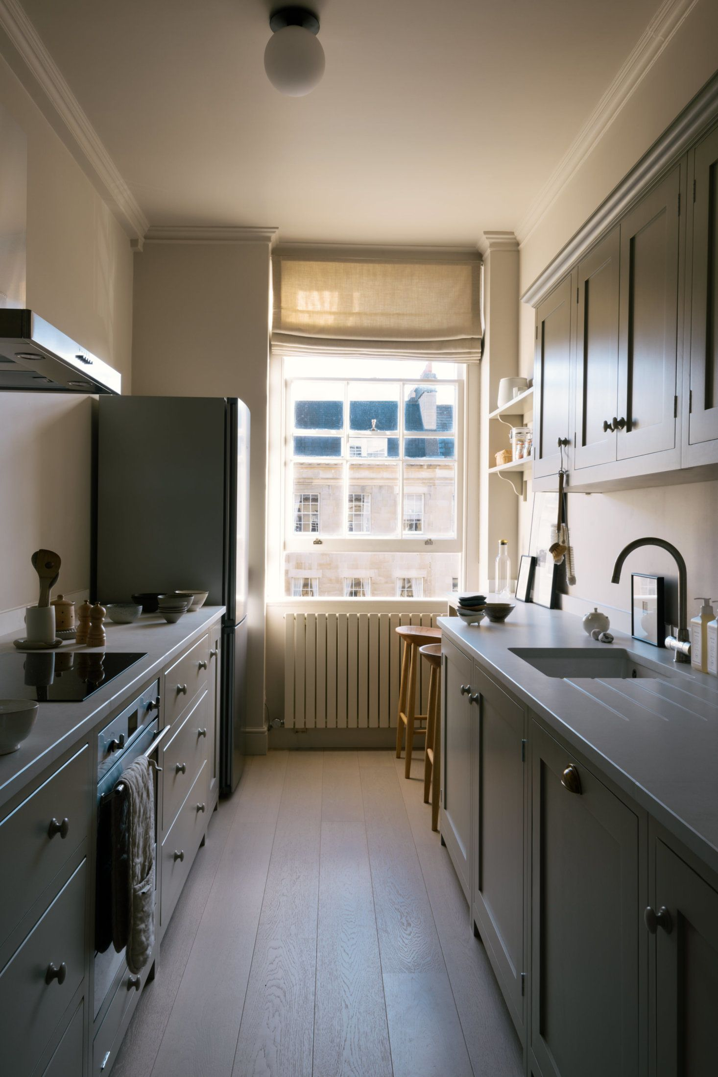 Shaker Galley Kitchen A Stylish Small Design By Devol For The