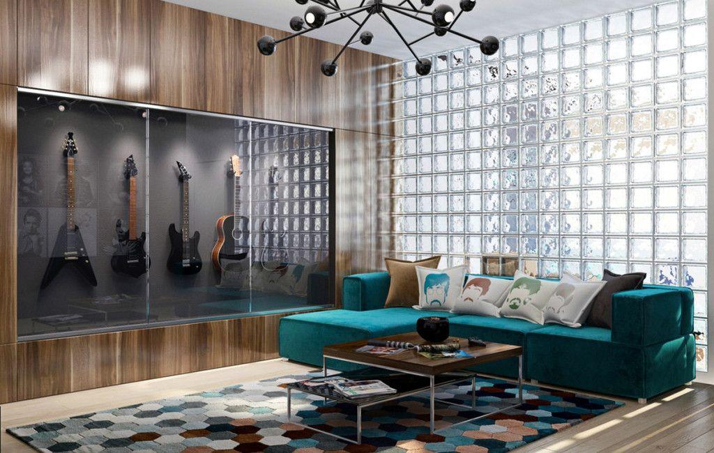. Peter Staunton Interior Design   Rock n Roll Chic Decor