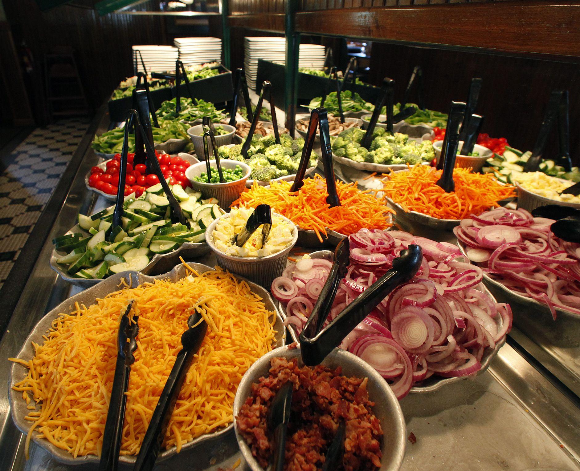 Salad Bar You Say Salad Bar Delicious Salads Salad