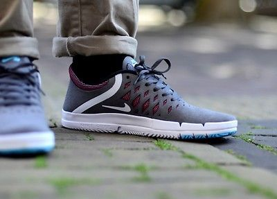 Nike free sb mens boys #skateboarding shoes #boots #trainers dark grey uk  size