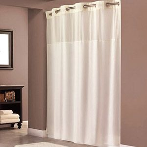Hookless Beige Polyester Shower Curtain Walmart Com Fabric Shower Curtains Hookless Shower Curtain Cool Shower Curtains