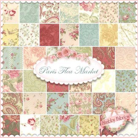 Paris Flea Market Charm Pack by 3 Sisters for Moda Fabrics: Paris ... : three sisters quilt shop - Adamdwight.com