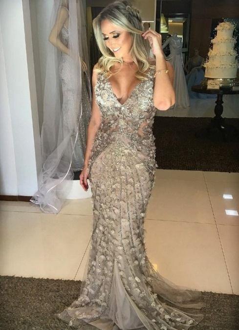 10 VESTIDOS DE FESTA GLAMOUROSOS PARA USAR EM 2018 | Party Dress ...