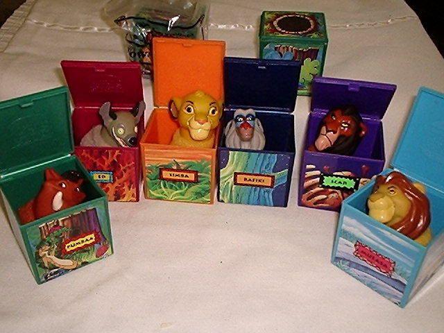 Lion King toys #90s #childhood #memories