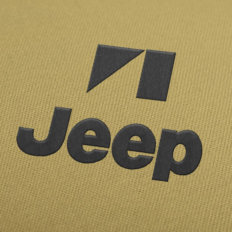 Jeep logo embroidery design. #EmbroideryDesign, #EmbroideryDownload, #EmbroideryMachine, #Embroiderylogos, #EmbroideryCarLogo, #EmbroideryMotor, #EmbroideryAutomobile