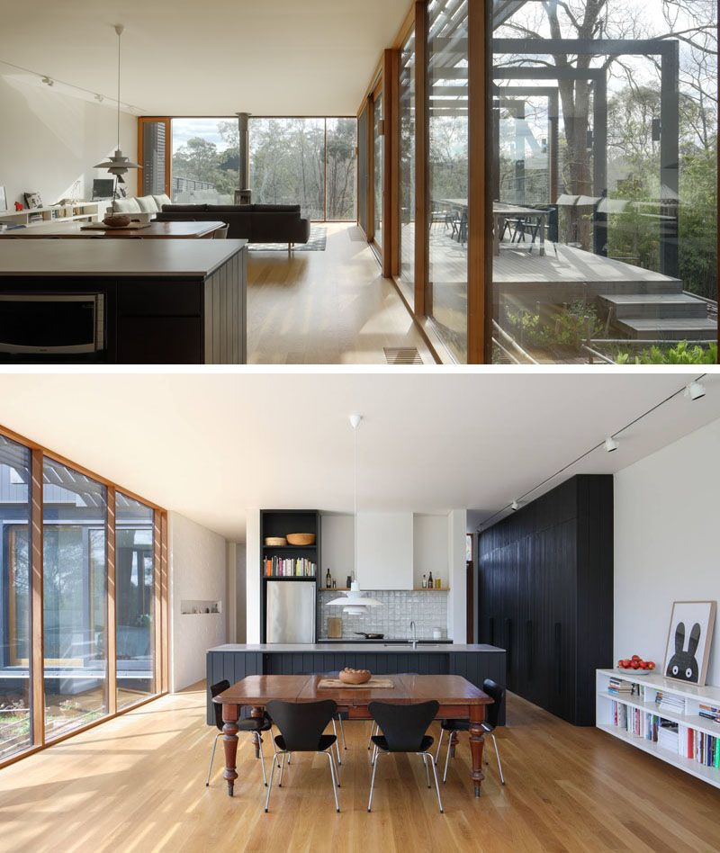 Chiverton Architects Have Added A Black Stained Wood