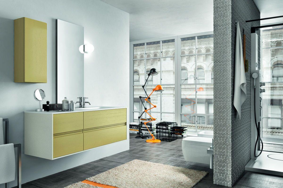 Contrasti delicati nella nuova collezione di arredo bagno for Zanette arredo bagno sacile