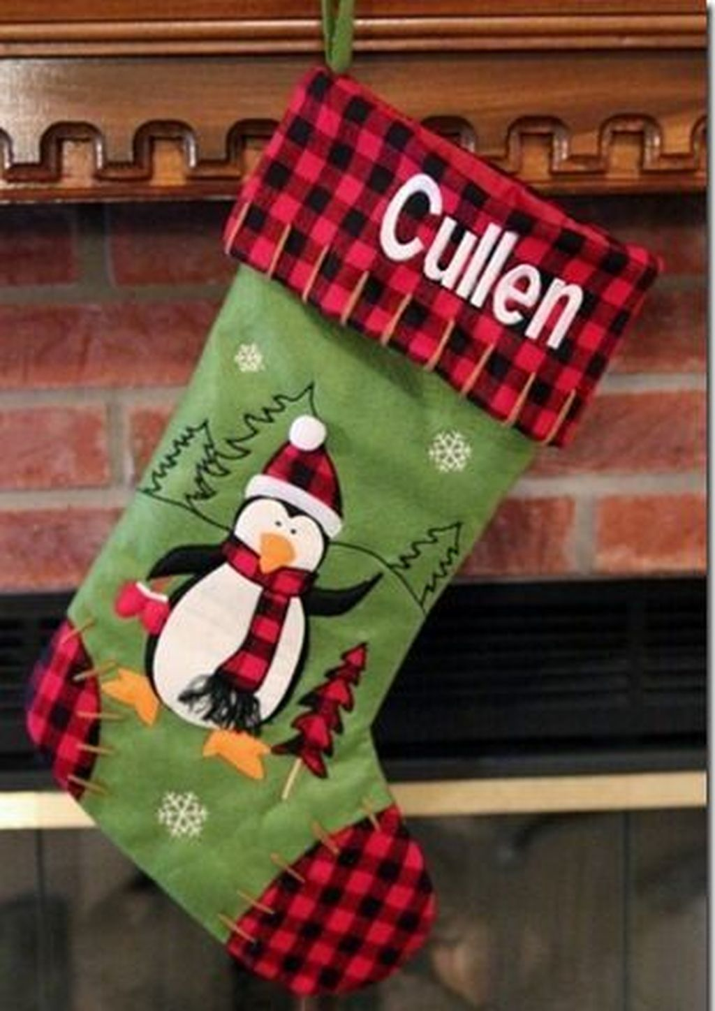 Cool 50 Amazing Christmas Stockings Ideas For Decor Christmas Stockings Quilted Christmas Stockings Stockings Christmas Homemade