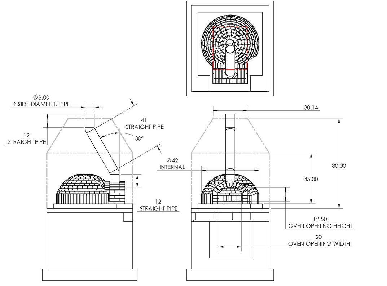 indoor pizza oven plans how to build a safe indoor pizza oven garden design [ 1073 x 793 Pixel ]