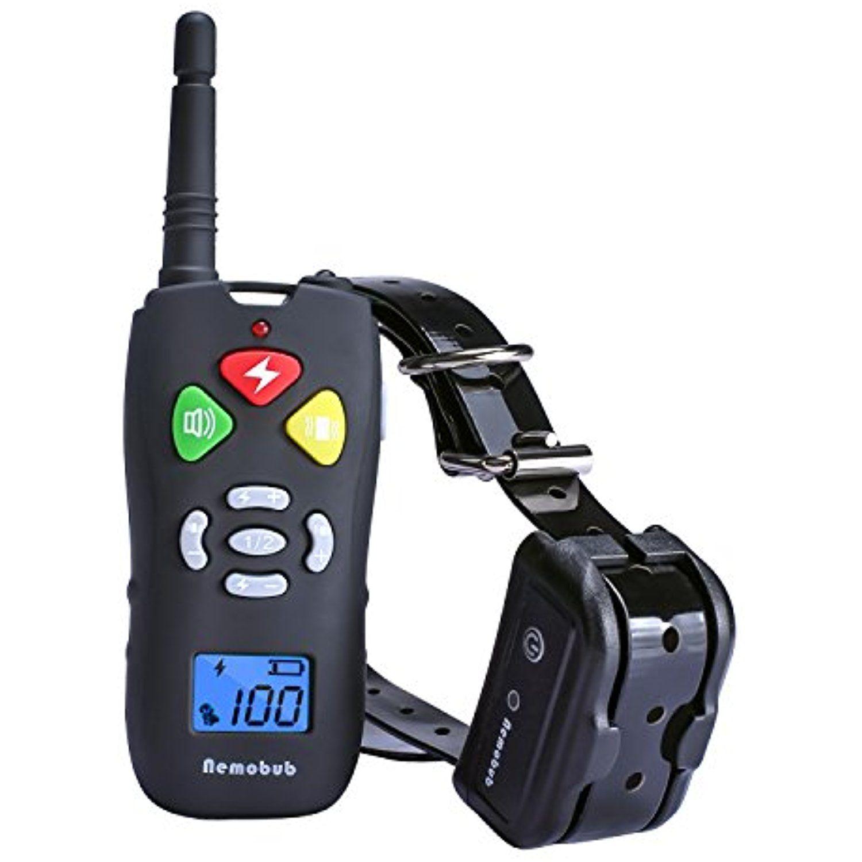 Nemobub Dog Training Collar 100 Waterproof 300yd Remote Shock