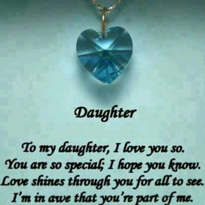 Daughter Birthday Quotes for Facebook | Love her forever!!!! | bible ...