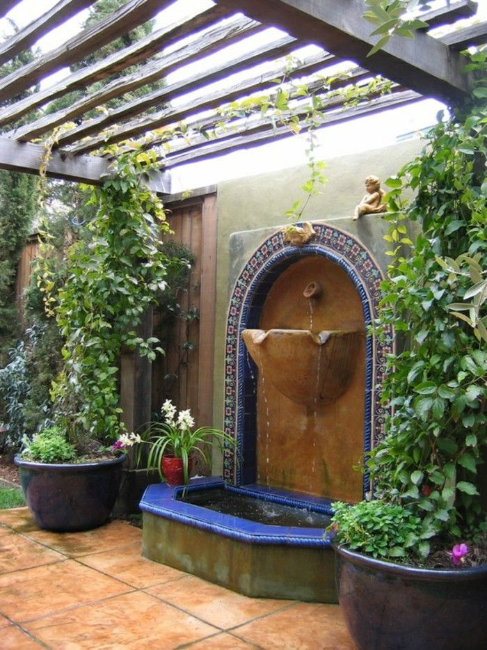 Nice Image Result For Mosaic Wall Fountain Design
