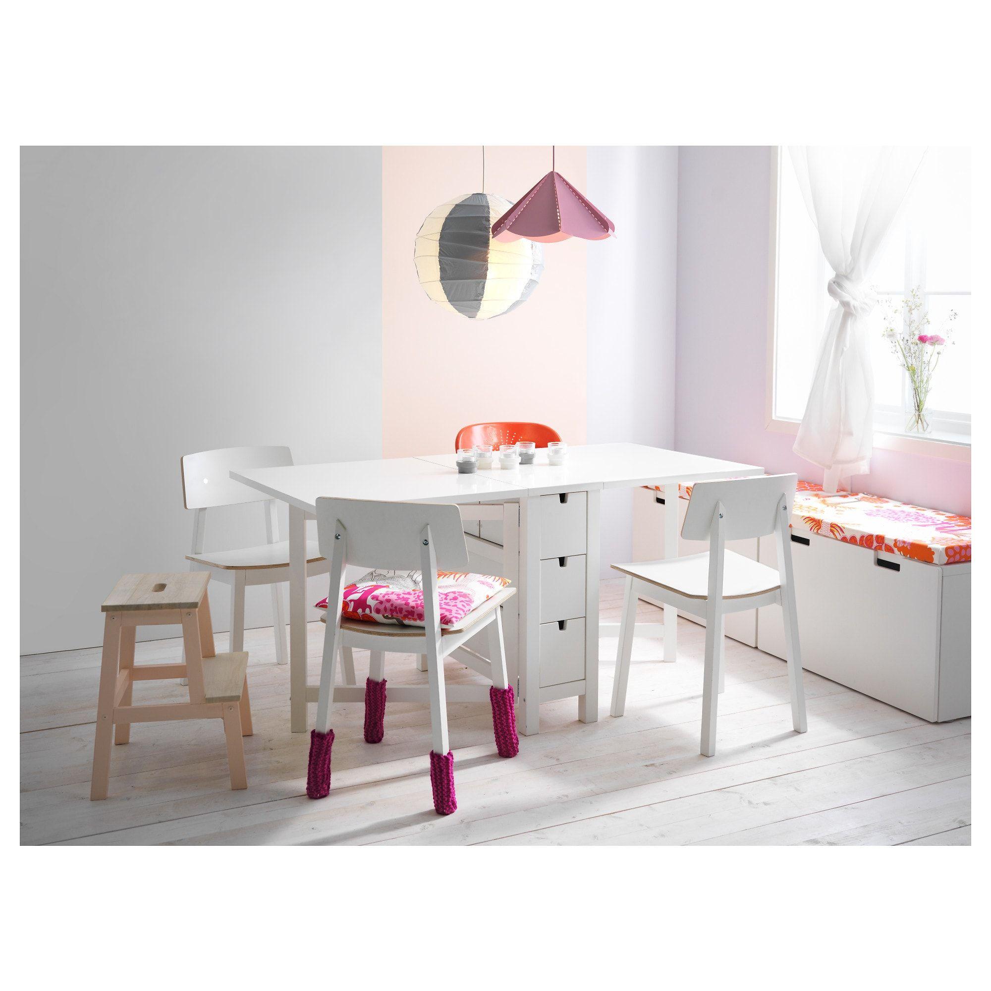 Ikea Norden Klapptisch Weiß.Norden Klapptisch Weiß Products In 2019 Küchenesstische