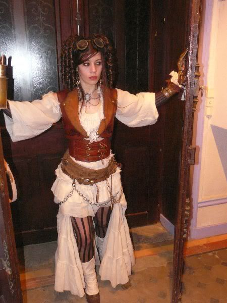 patron couture jupe steampunk
