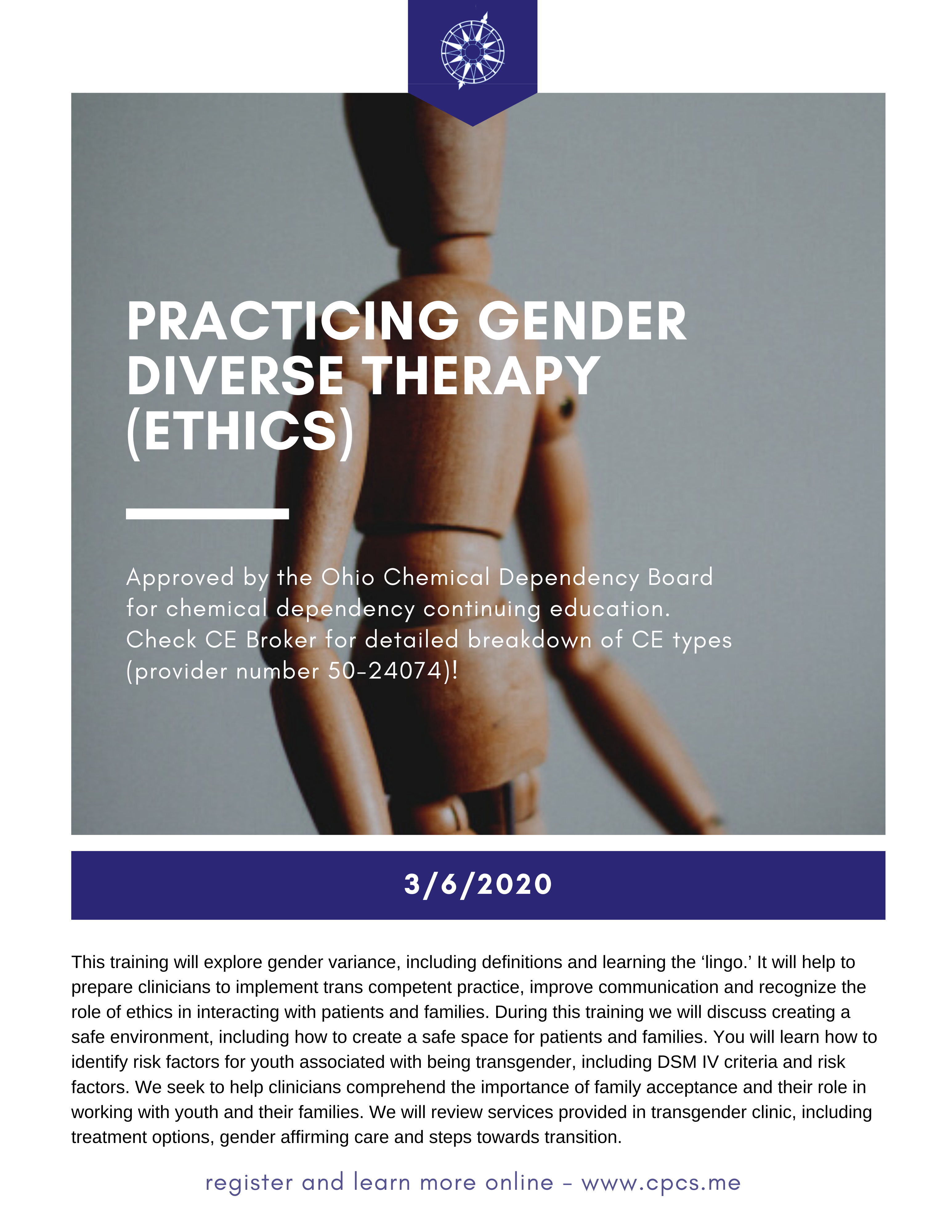Practicing Gender Diverse Therapy (Ethics) in 2020