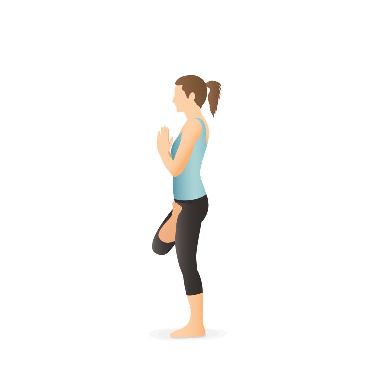 Yoga Pose Bow Yoga Illustration Yoga Poses Yoga Cartoon