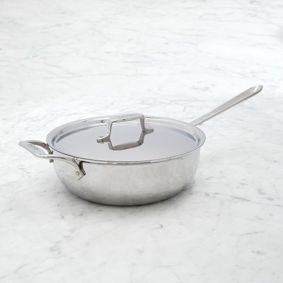 All Clad D5 Stainless Steel Nonstick Essential Pan Nonstick All Clad How To Cook Pasta All clad non stick skillet