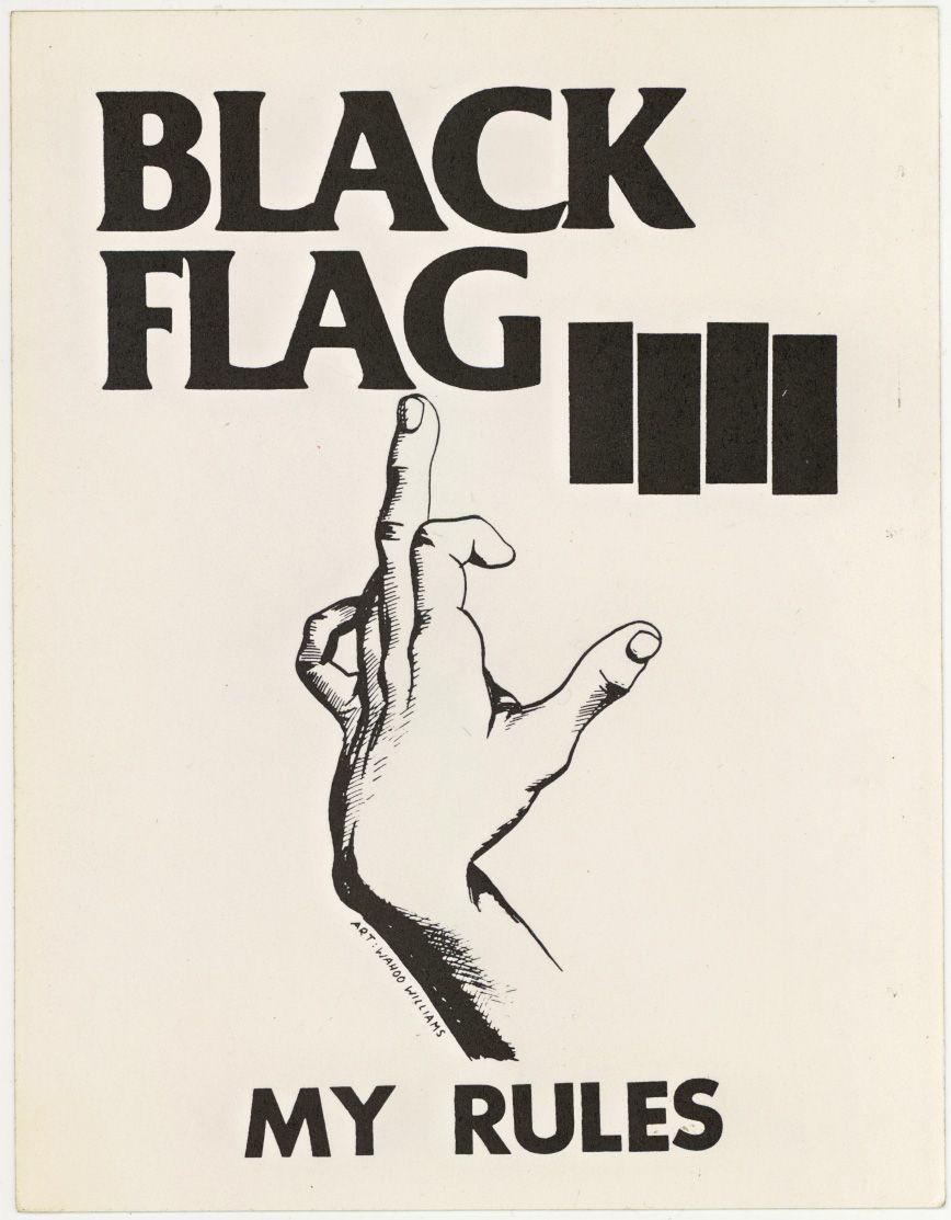 Public Collectors Punk Poster Punk Art Black Flag