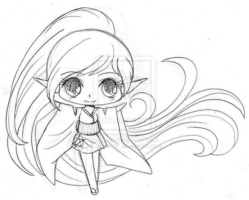 Little Elf Sketch by YamPuff on DeviantArt | Sketches