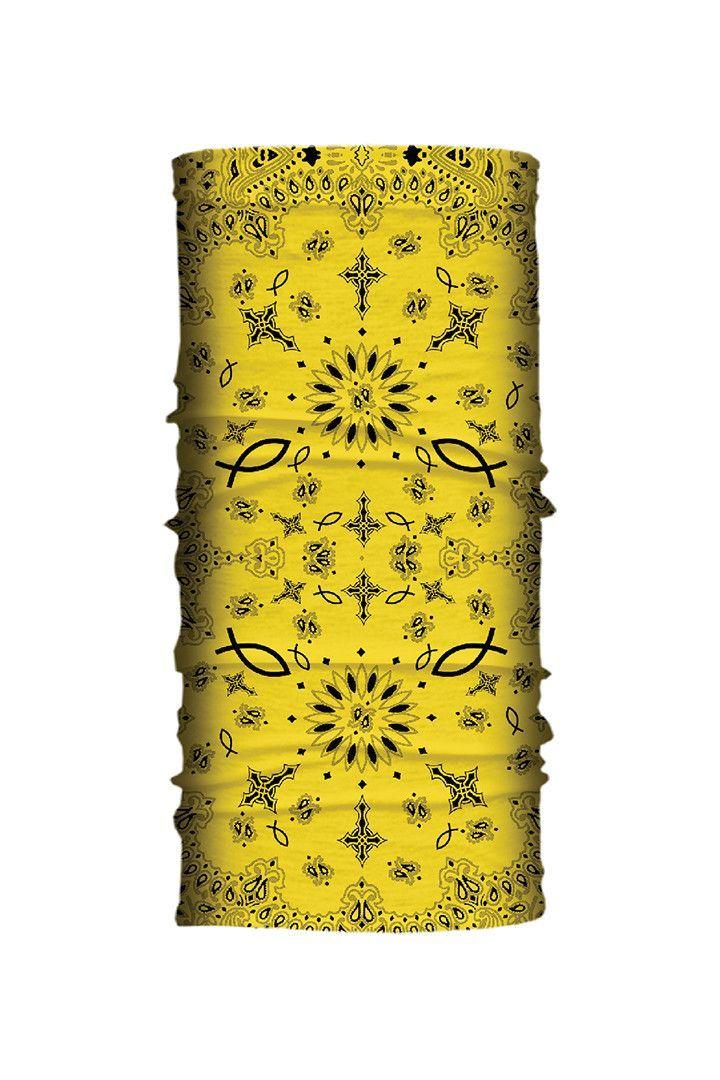 Yellow Paisley Faith EZ Tube