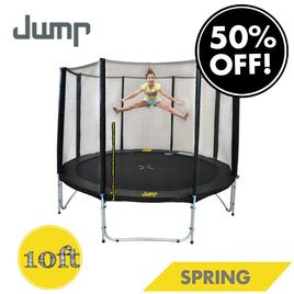 Jump Spring Trampoline 8ft 10ft And 12ft With Safety Enclosure Trampolines For Sale Best Trampoline 10ft Trampoline