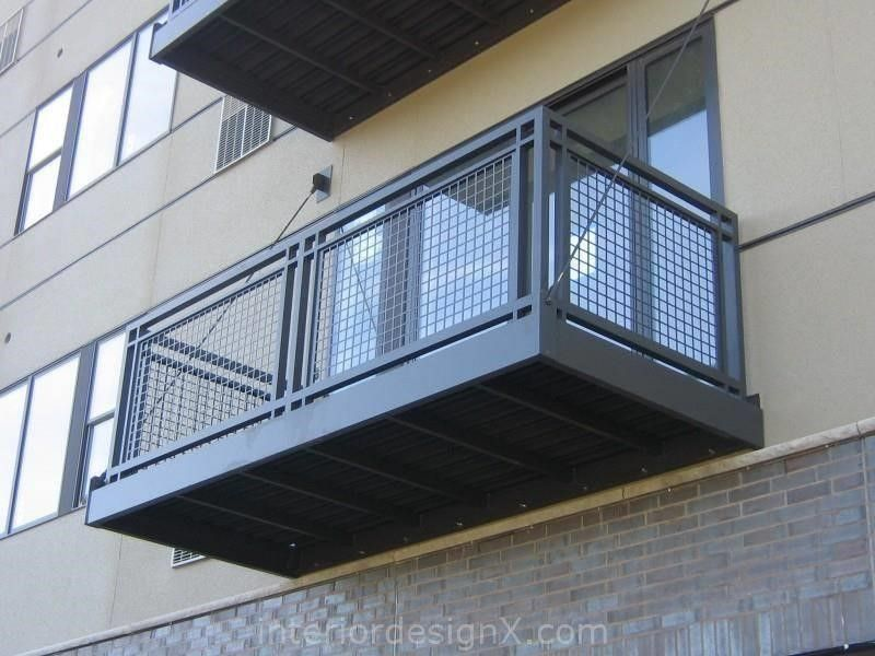 Prefabricated Metal Balconies Home Decorating Ideas Prefabricated - terrasse sur pilotis metal